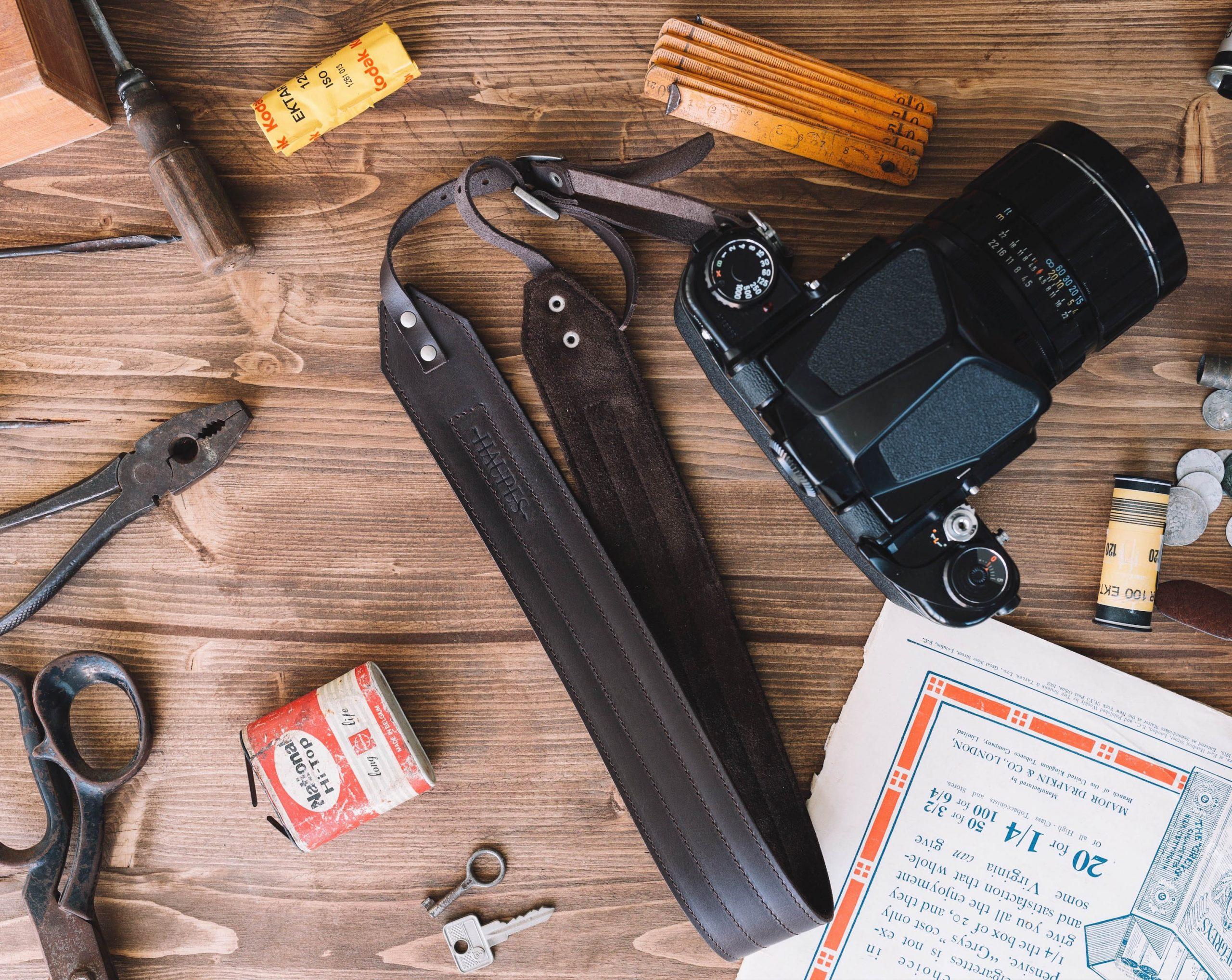 Bild på gammal utrustning. Foto: Haupes / Unsplash